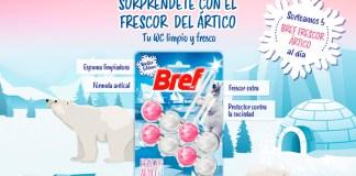 Regalan 5 Bref Winter Edition Frescor Ártico cada día