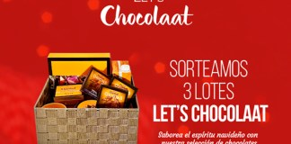 Sortean 3 lotes Let's Chocolaat