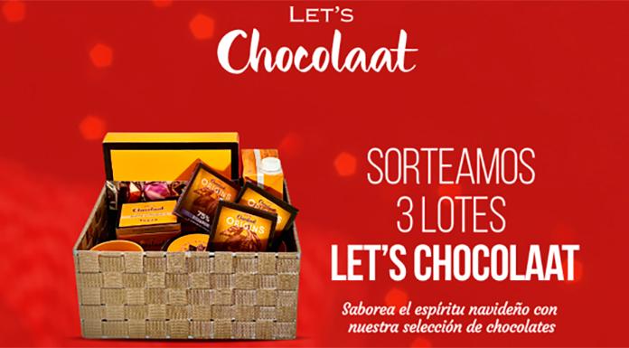 Sortean 3 lotes Let's Chocolaat