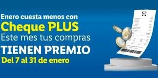 Consigue premios con Cheque Plus de Lidl