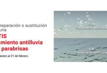 Gratis Tratamiento antilluvia con Carglass