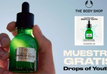 Muestras gratis de Drops Of Youth
