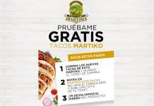 Prueba gratis Tacos Martiko