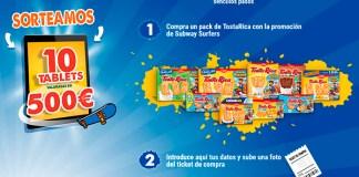 TostaRica sortea 10 tablets