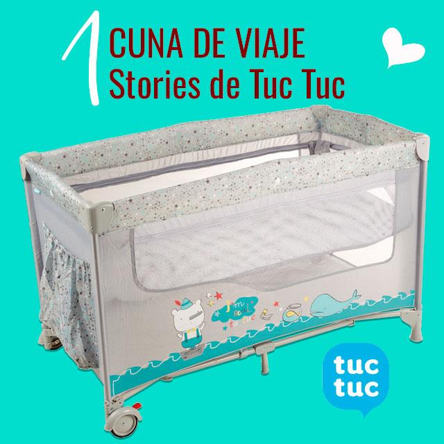 Sorteo 1 Cuna de Viaje Stories de Tuc Tuc