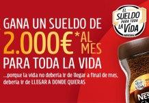 Gana el sueldo Nescafé 2021 para toda la vida