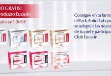 Consigue 1 año gratis de producto Eucerin