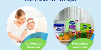 Ventajas para tu bebé en Hero Baby Club