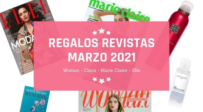 Regalos Revistas Marzo 2021