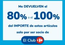Devuelven el 100 % en compras Carrefour