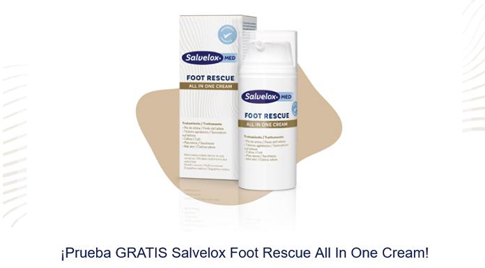 Gratis Salvelox Foot Rescue All In One Cream