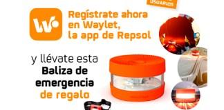 Llévate gratis una baliza de emergencia con Waylet