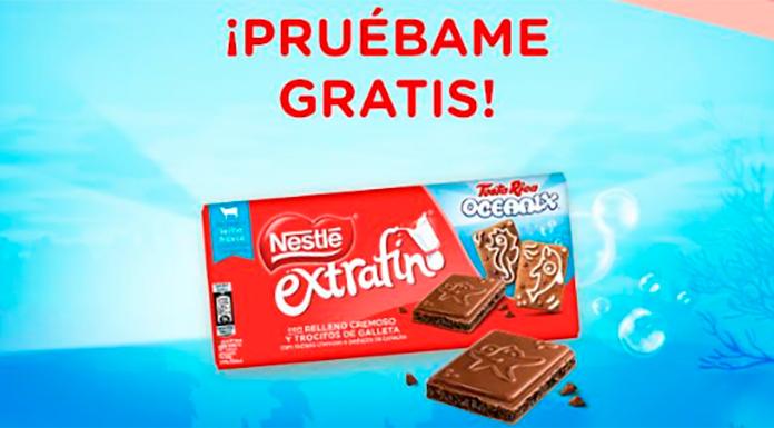 Prueba gratis la tableta Nestlé Extrafino Oceanix