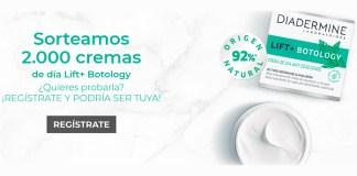 Sortean 2.000 cremas Lift + Botology