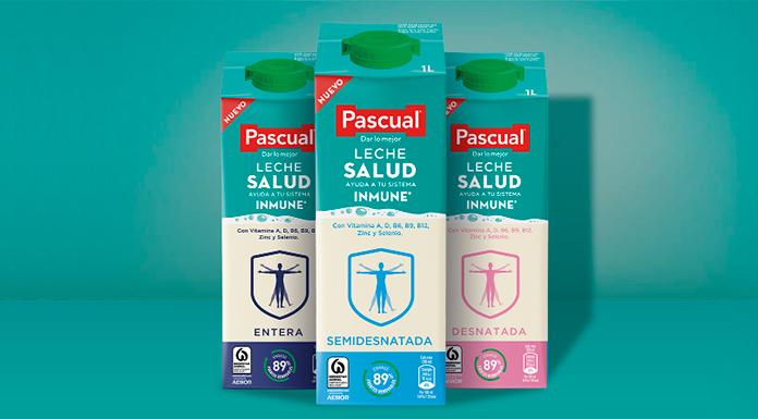 Sorteo de 3 packs de 12 bricks de Leche Pascual Salud