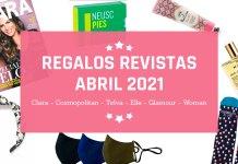 Regalos Revistas Abril 2021