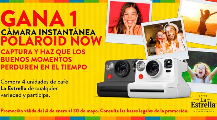 Gana una cámara con Cafés La Estrella