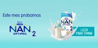 Gratis NAN OPTIPRO 2 con Voces Nestlé Bebé