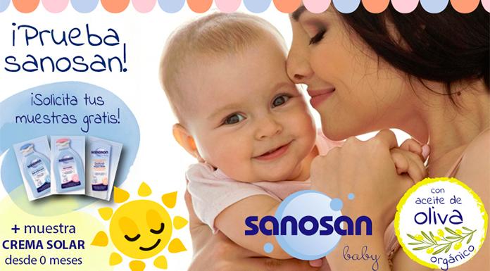 Muestras gratis de Crema solar Sanosan