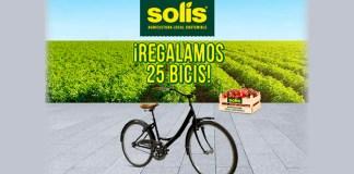 Regalan 25 bicis con Solís