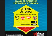 Sorteos de hasta 250 euros con Johnson's