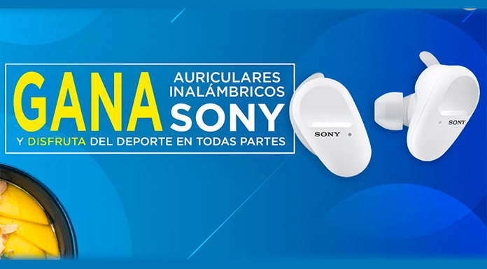 Gana auriculares inalámbricos Sony