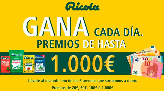 Gana hasta 1.000 euros con Ricola