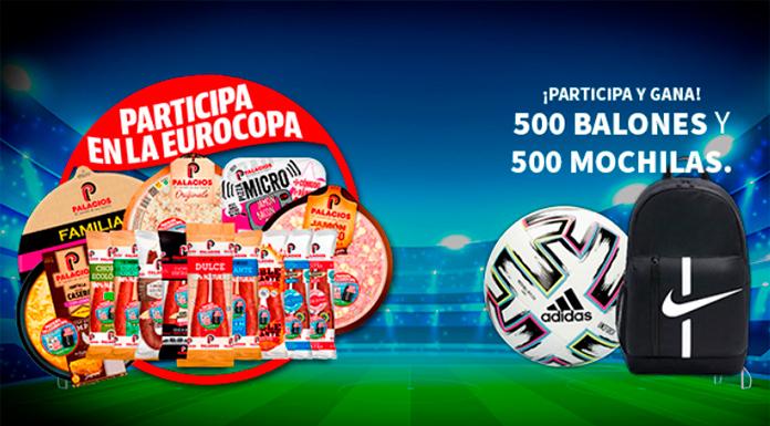 Palacios sortea 500 balones y 500 mochilas