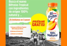 Prueba gratis Bifrutas Tropical 100% Natural