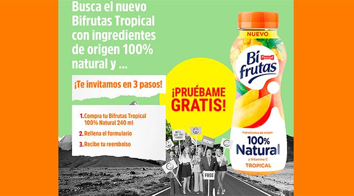 Prueba gratis Bifrutas Tropical 100% Natural