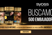 Buscan 500 embajadoras de Syoss