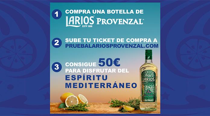 Consigue 50 euros con Larios Provenzal