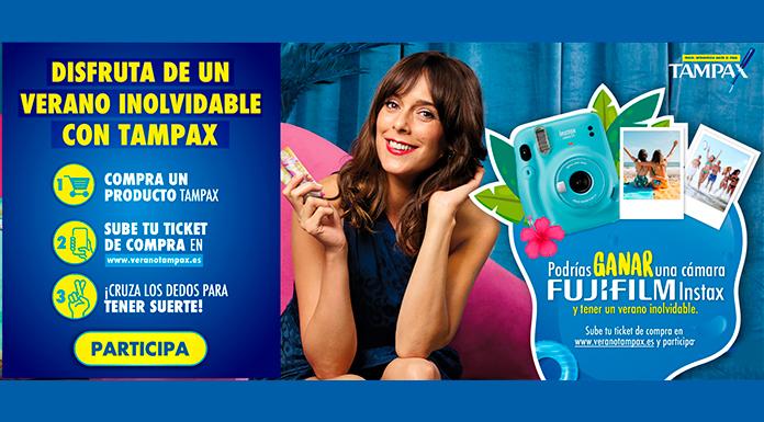 Gana una cámara Fujifilm Instax con Tampax