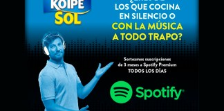 Gratis Spotify Premium con Koipe Sol