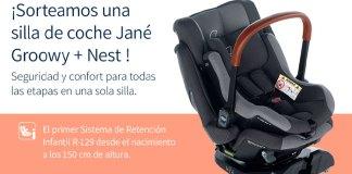 Gana una silla de coche Jané con Let's Family