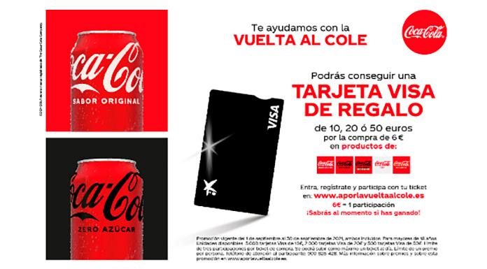 Coca Cola te ayuda con la vuelta al cole
