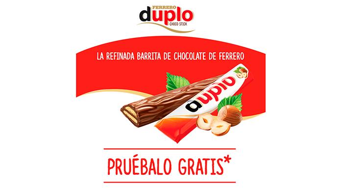 Prueba gratis Ferrero Duplo