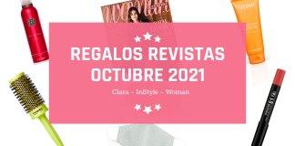 Regalos Revistas Octubre 2021