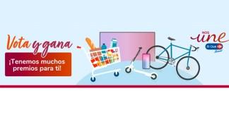 Vota y gana premios con Carrefour
