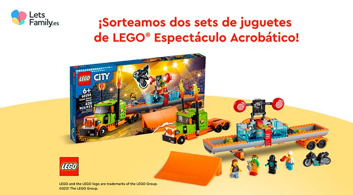 Lets Family sortea dos sets de juguetes de Lego