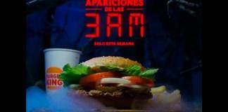 Menús gratis en Burger King