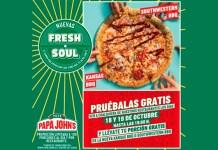 Pizzas Papa John's gratis
