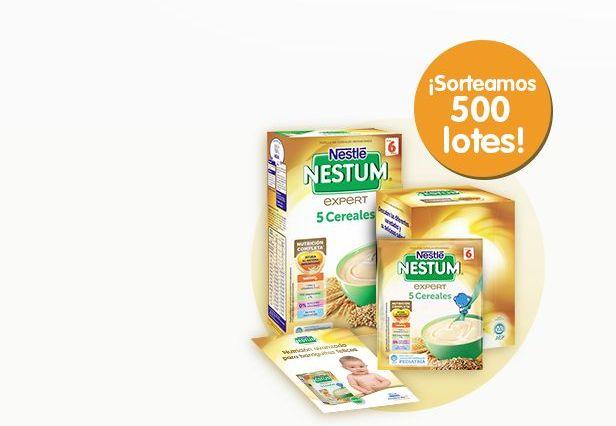 Sorteo de 500 lotes de Nestlé Nestum