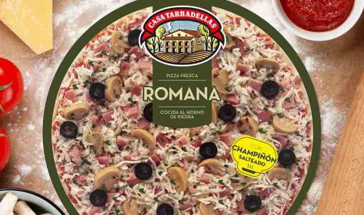 Pizza romana de Casa Tarradellas