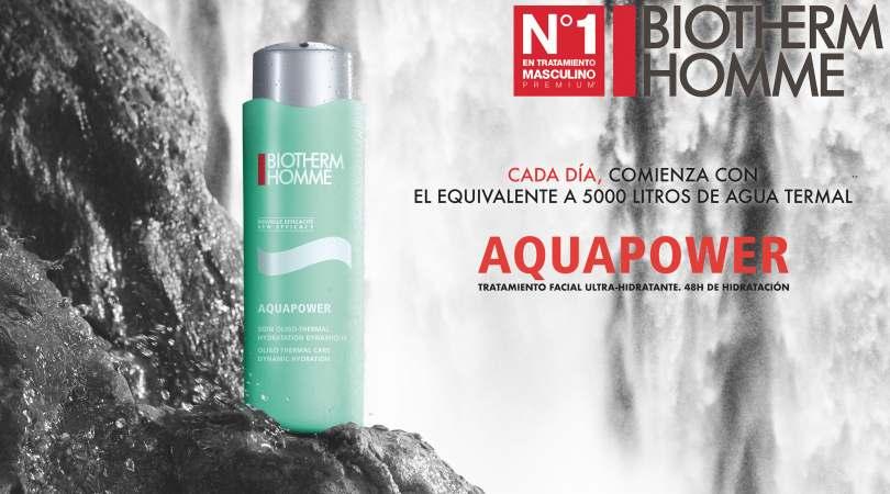 Muestras gratis de Biotherm Homme Aquapower