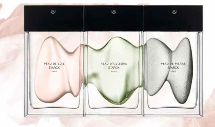 Tarjeta olfativa gratis de perfumes Starck