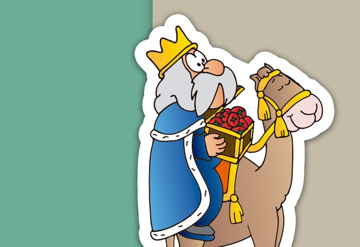 Belén imán de Orlando gratis - rey Gaspar