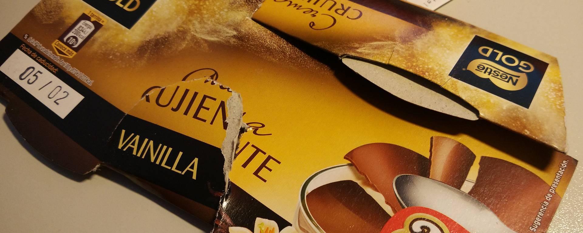 Promoción 2x1 Nestlé Gold