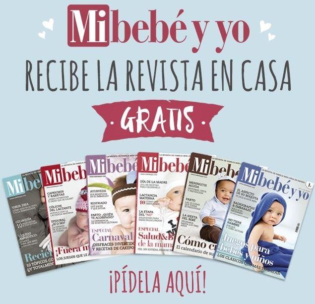 revista Mi bebé y yo gratis