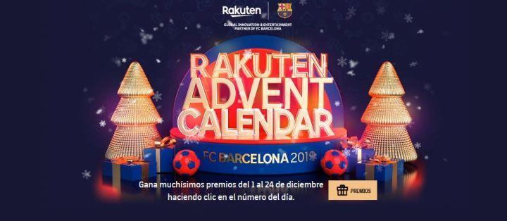 FC Barcelona calendario de Adviento